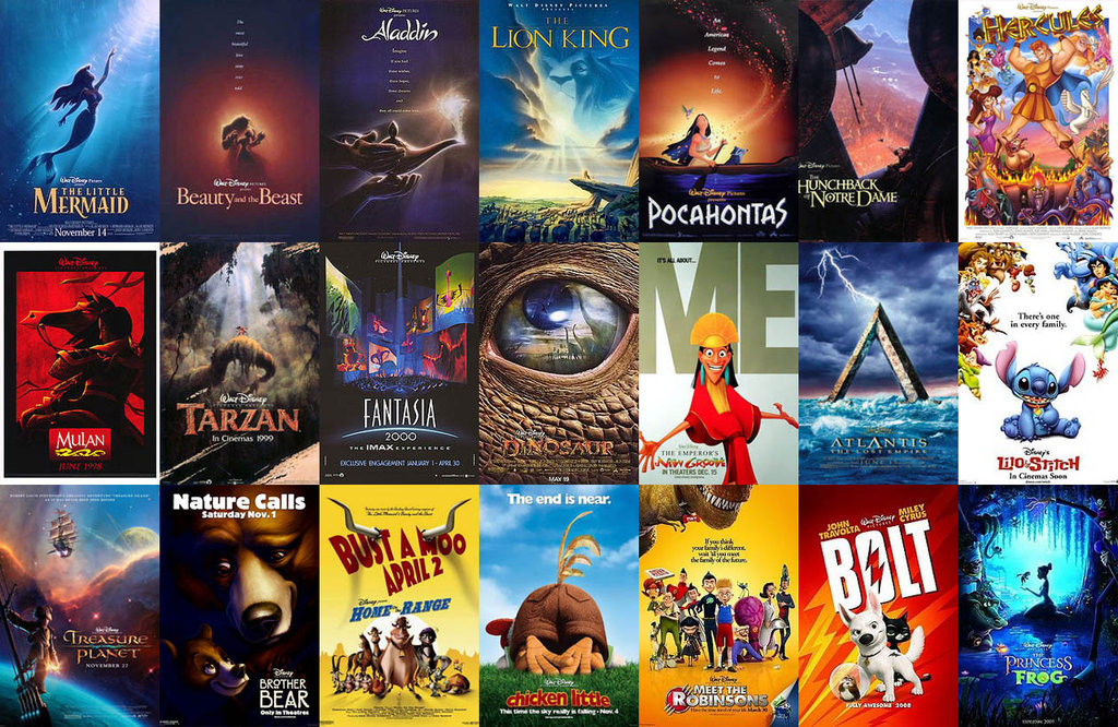 Disney Movies Posters