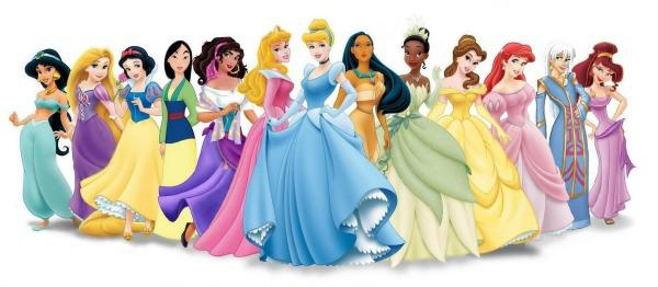 All Disney Princesses