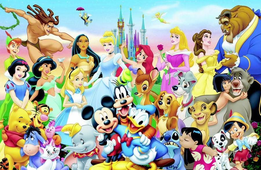 Clicking Disney Characters Quiz - By Nicholocious