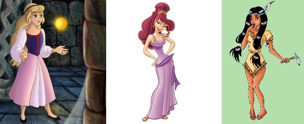 Forgotten Disney Princesses