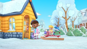 Doc McStuffins Winter Games