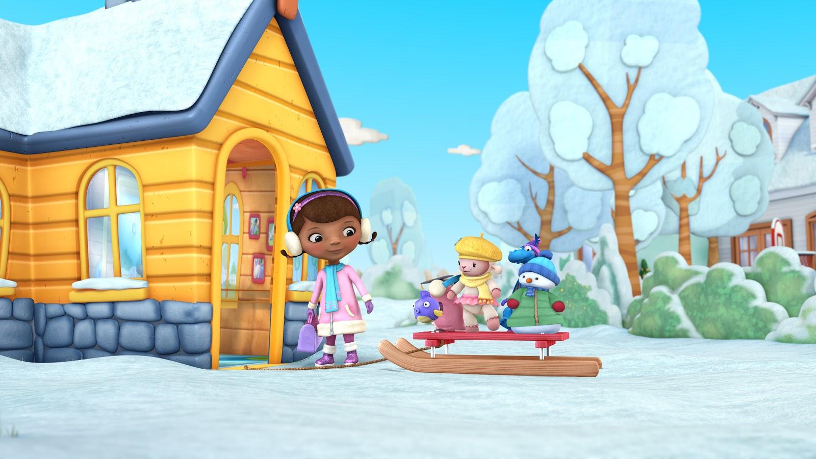 Doc McStuffins Winter Games
