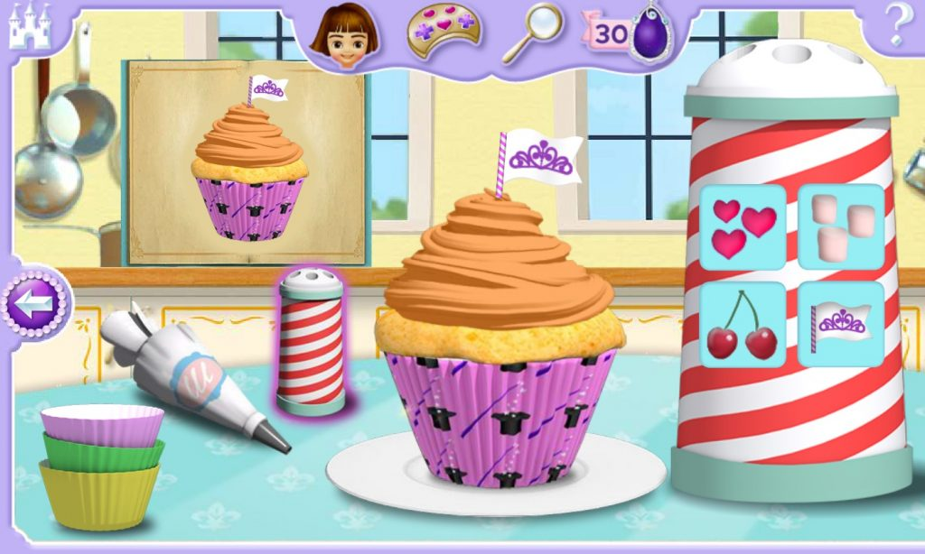 Sofia Cupcake Party Game