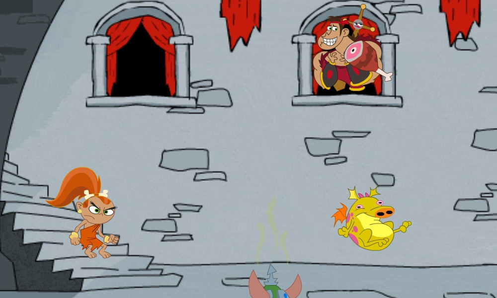Dave the Barbarian Faffy Zap