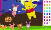 Play Winnie the Pooh: Color Pooh and Piglet | Disney--Games.com