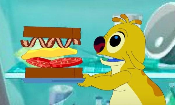Lilo And Stitch 625 Sandwich Stacker