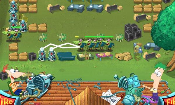 Play Backyard Defense