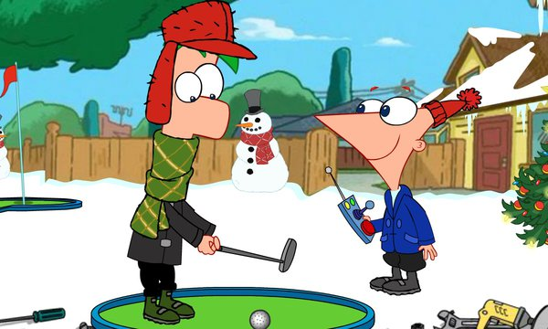 Play Gadget Golf Winter Holiday Edition