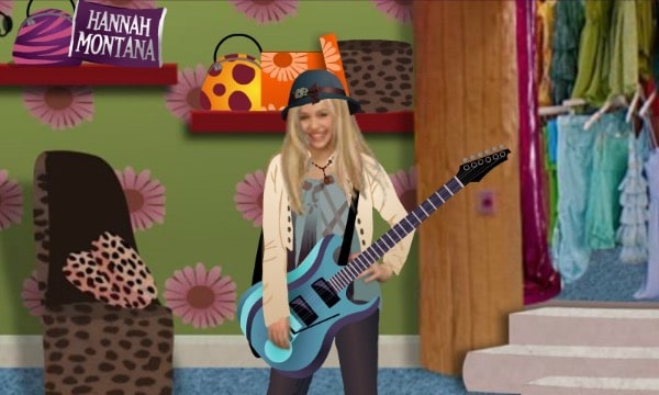 Hannah montana dress up games rockstar fashion challenge