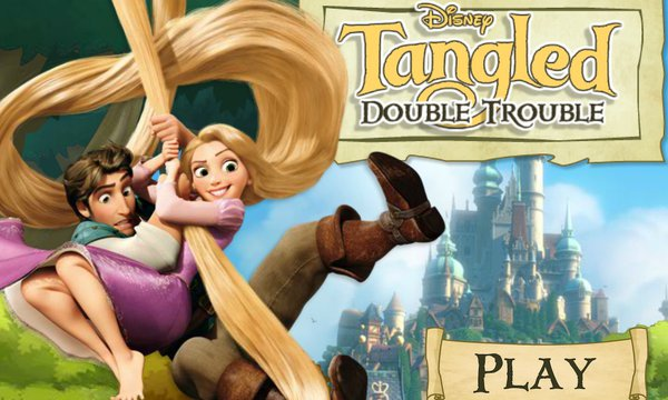 Tangled Double Trouble Disney Games Com