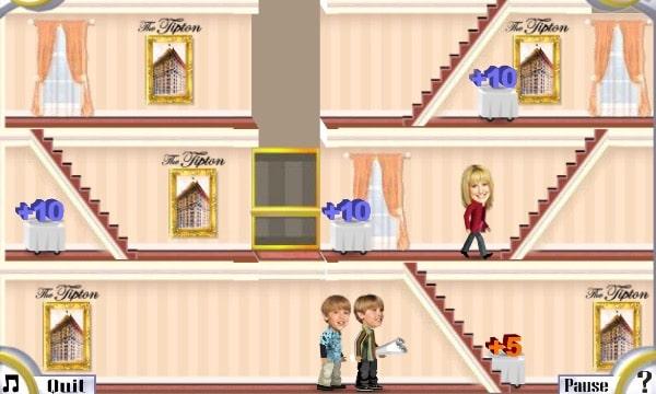 Play Zack & Cody`s Tipton Trouble