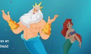 Little Mermaid King Triton's Tournament