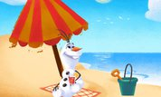 Olaf's Summer Sticker Spree