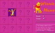 Pooh Memory Game