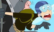 Play Kim Possible: Ron's FreeFall | Disney--Games.com