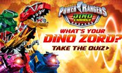 Play Power Rangers Dino Charge: What's Your Dino Zord? | Disney--Games.com