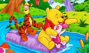 Winnie, Tigger and Piglet Color Math